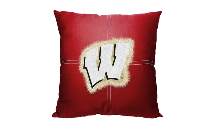 COL 142 Wisconsin Letterman Pillow