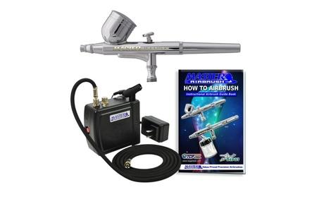 Master Airbrush MAS KIT-VC16-B22 Portable Mini Airbrush Air Compressor 754511a5-a77e-4fe9-9abc-467aba4ba0a5