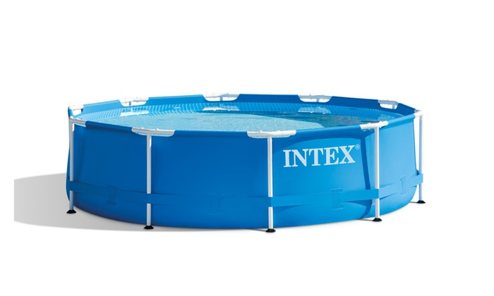 Up To 13% Off on Intex 12ft X 30in Metal Frame... | Groupon Goods