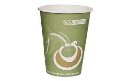 Eco-Products EPBRHC12EW Evolution World 24%PCF Hot Drink Cups-SeaGreen 73d66326-05d5-4f04-afb6-62475e50c954