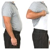 Tone Wear Men's Slimming and Shaping Underwear T-Shirts