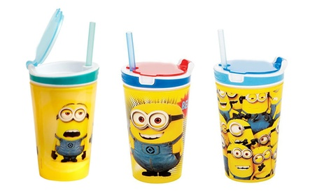 Creative 2 in 1 Snack & Great Drink Cup For Travelling abb3f5dc-6377-410f-840e-cea8eb86d3c3