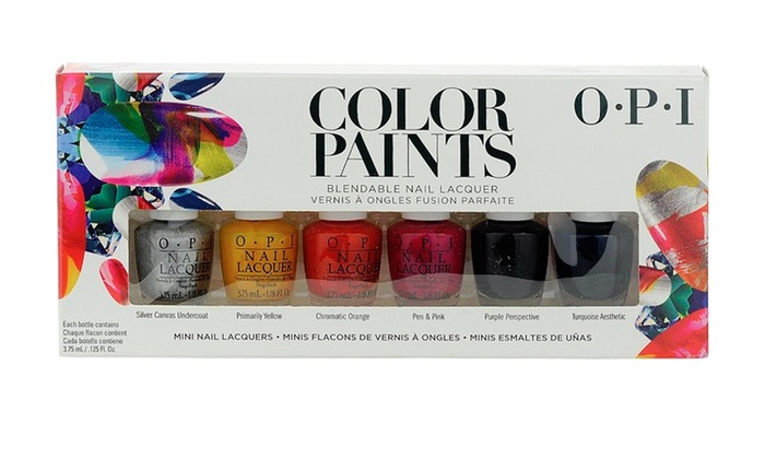 Up To 35% Off on OPI Nail Lacquer: Color Paint... | Groupon Goods