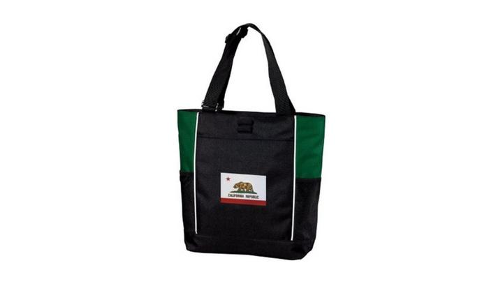 California Tote Bag Flag Bags
