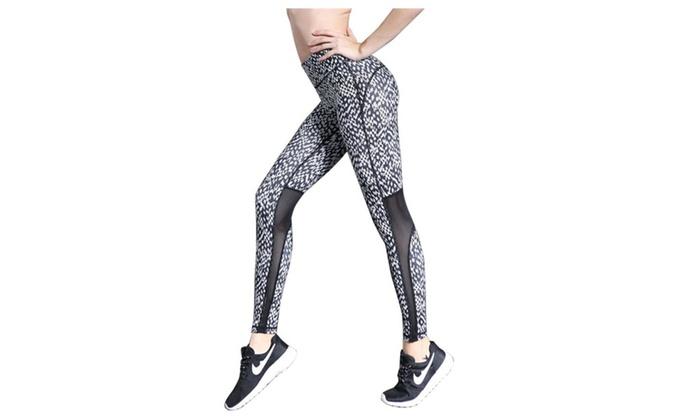 Women's Compression Leggings Base Layer Tights Long Pants