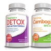 Weight Loss Kit-Garcinia Cambogia-Cleanse-Detox w Free Waist Trimmer