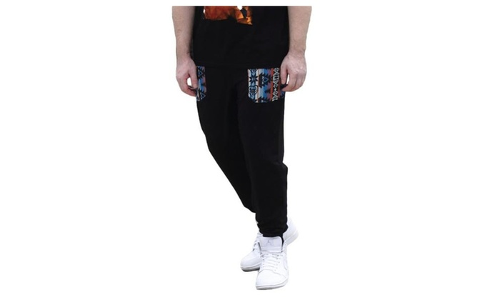Men's Loose Fit Straight Long Simple Fashion Pants