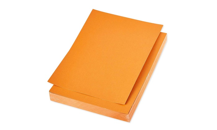 picture regarding Printable Cardstock called 96x Orange Metal Printable Cardstock Shimmer Paper