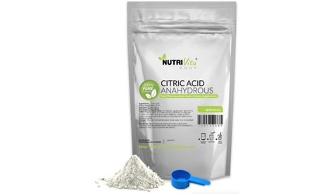 Pure Citric Acid Anahydrous Powder, 25 lbs