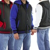 Men's Varsity Jacket With Removable Hood