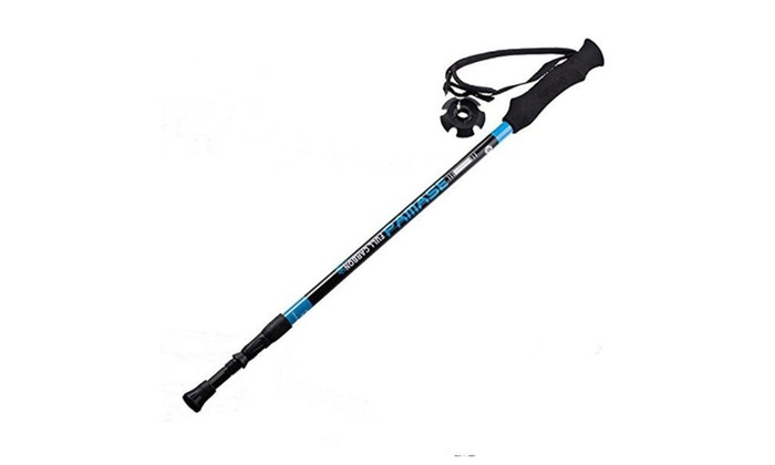Alpenstock  Pole Walking stick, Sweat Releasing EVA, 1-Piece