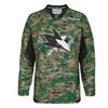 Reebok San Jose Sharks Practice V-Neck Army Jersey - Digital Camo