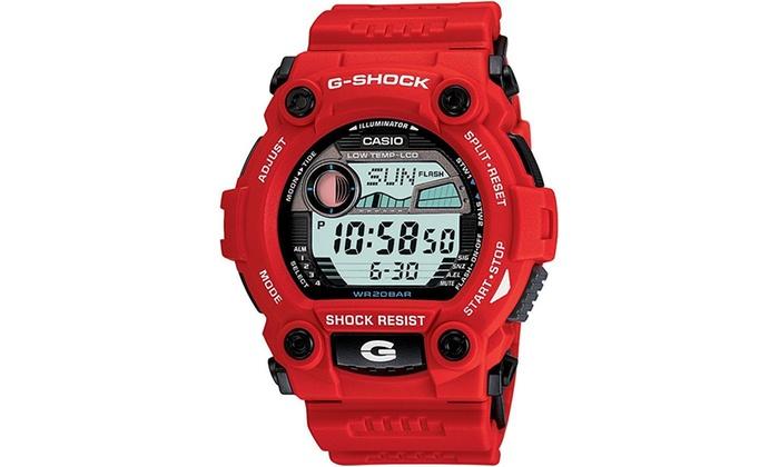 Casio G7900a 4 G Shock Sports Watch Red