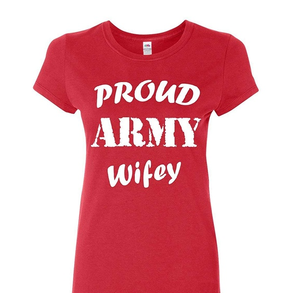 4f851ea4 Up To 59% Off on Proud Army Wifey Women's T-Sh...   Groupon Goods