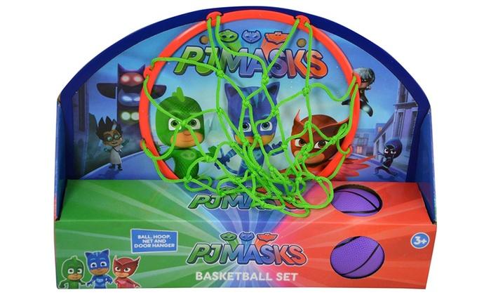 Pj Masks Kid S Indoor Basketball Hoop With Ball Pj Mask Toys Groupon