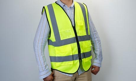 iMounTEK Reflective Safety Vest, Highly Visible, Waistcoat ID Pocket, Zipper