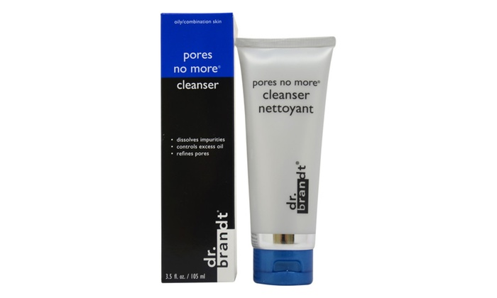 2 Pack - Dr. brandt Pores No More Cleanser 3.5 oz (6 Pack) BEAUTY TREATS Facial Mask Refreshing Vitamin C Solution - Co-Q10