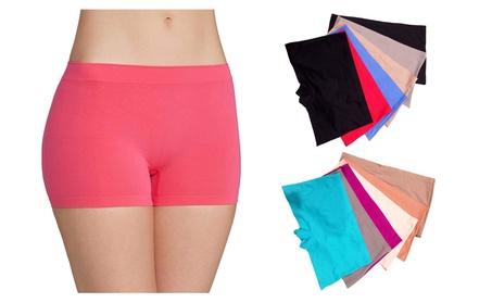 Women's No Show Boyshort Panty Briefs - 12-Pieces 4f20d392-9d5b-4ea0-803d-dff78feca7b5