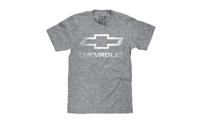 Chevrolet Bowtie Logo T-Shirt Big and Tall Chevy Shirt
