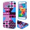 Insten Hard Hybird Case For Samsung Galaxy Grand Prime Hpink/blue