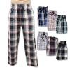 Men's 3 Pack Cotton Lounge Sleep Pajama Drawstring Pants