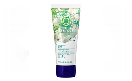 Herbal Essences Set Me Up Max Hold Hair Gel 6.0 Fl Oz (Pack of 3 8496b3cc-10cd-4771-89c3-e5a45d87a355