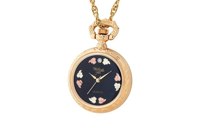 Black hills gold pendant watch groupon black hills gold pendant watch aloadofball Image collections
