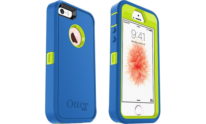 Otterbox Defender Series Case And Belt Clip For Iphone 5 5s Se