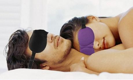 1 o 2 máscaras para dormir 3D