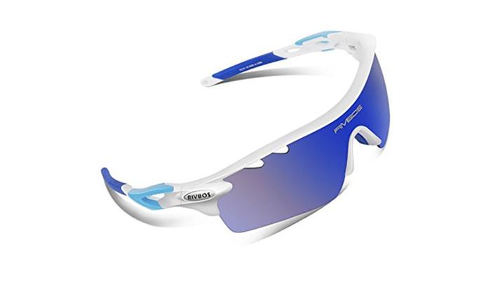 4fa27829f2769 Unisex Polarized Sports Sunglasses with 5 Interchangeable Lenses ...