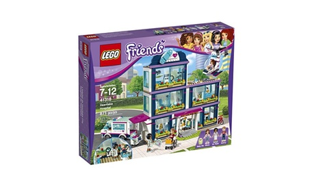 LEGO Friends Heartlake Hospital 41318 Building Kit 871 Piece f0db6aa1-1d9c-4a00-a82a-82cecab1808a