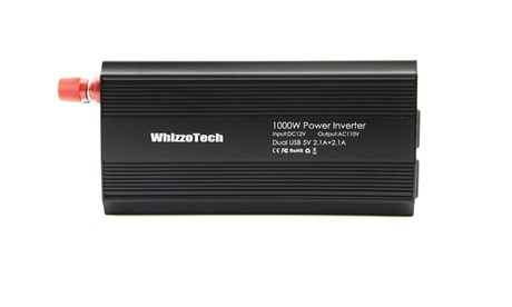 1000W 2000W Car Power Inverter DC 12V To AC 110V 2 AC Outlets RV Solar Converter photo