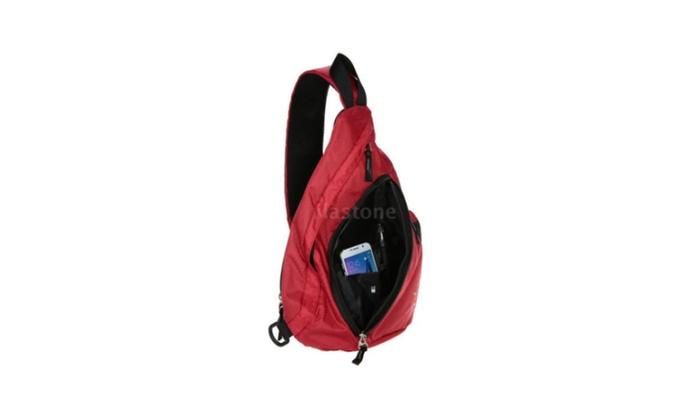 Shoulder Pack Chest CrossBody Bag Leisure TOMSHOO Sling Bags Men Women  0ff2a1762f042