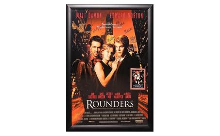 Rounders - Signed Movie Poster f878df8f-ff68-41fe-ae84-faaa1e3e38e1