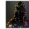 2.1M 20 LED Multi Color Five-pointed Stereo Star Lamp