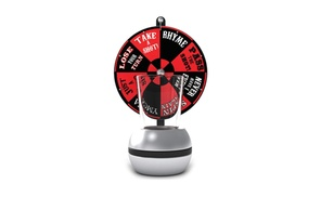 Urban Trend UTU3BR0071 Barbuzzo Wheel Of Shots Beverage Game