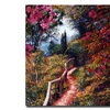 David Lloyd Glover Bougainvillea Trail Canvas Print