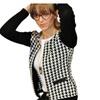 Women Long Sleeve Round Neck Short Outwear