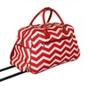 All-Seasons 8112022-165RW 21 in. ZigZag Collection Carry-On Rolling Duffel Bag