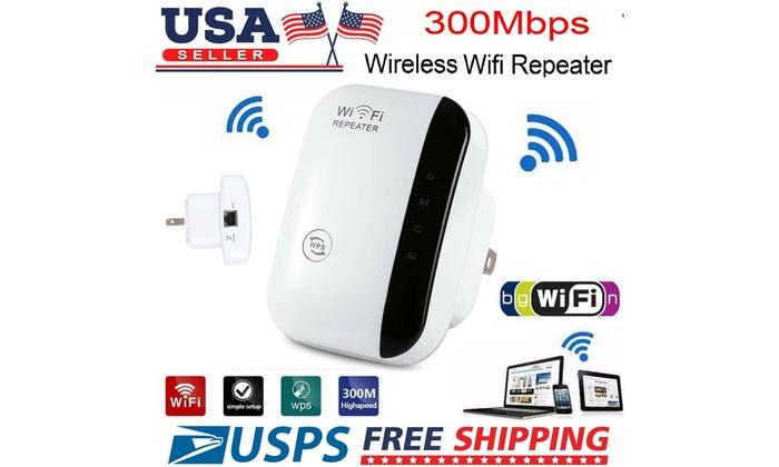 US Wireless Wi-Fi Amplifier Blast WiFi WifiBlast 300Mbps Range Repeater Extender