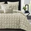 Maison Pleated Comforter Set (6- or 8-Piece)