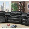 Auvinya Motional Home Theater in Bonded Leather