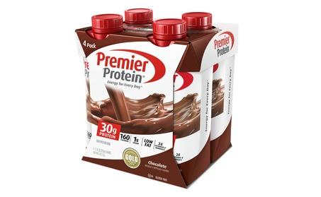 Premier Protein 30g Protein Shakes, Chocolate, 11 Fluid Ounce, 4 Count 7d4e634c-c6c0-42ba-acf7-0a3a13566657