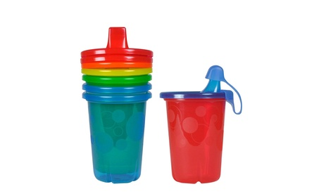 The First Years Take & Toss Spill-Proof Sippy Cups, 10 Ounce, 4 Count 0b6725a9-5ce1-456b-8830-dde63d885153