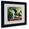 Pierre Leclerc 'Lush River' Matted Black Framed Art