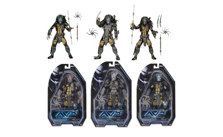 Predator Series 15 Set of 3 Masked Scar Ancient Warrior Temple Guard 98389530-3b01-405b-b0fe-3fa1f62a7336
