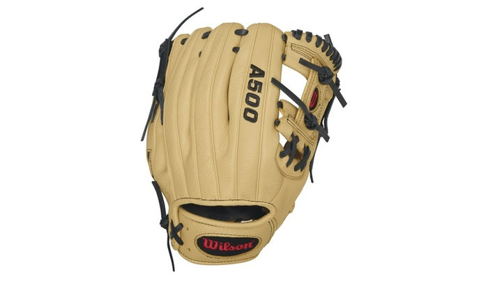 Wilson A500 All Positions 11in Baseball Glove-RH