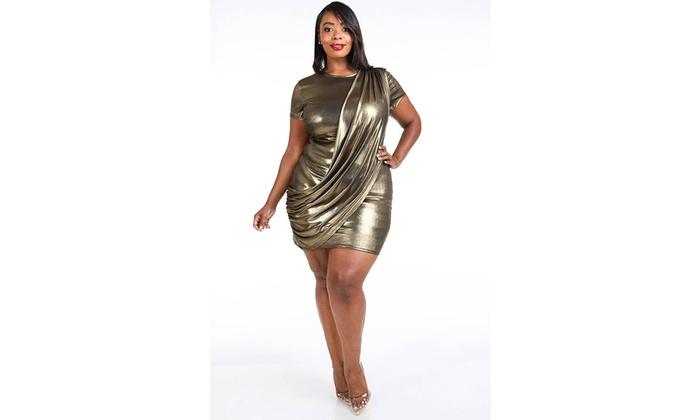 Metal Mini Dress