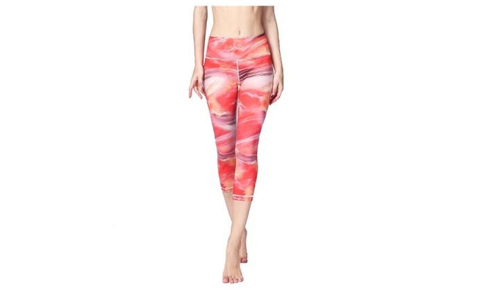 Women's Airbrush Capri Printed Legging