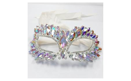 Crystal Cat Eye Masquerade Mask 58b0ce34-2540-4fe4-b6e7-55baf98262ca